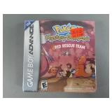 GBA Pokemon Red Rescue Mystery Dungeon Game SEALED
