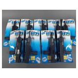 9pc Vtg Agglo UZI Pump & Shoot Water Guns NIP