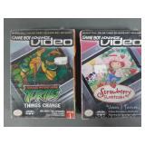 2pc Gameboy Advance Video Cartoons SEALED