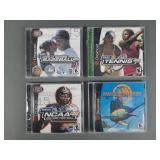 4pc Sega Dreamcast Sports Games SEALED