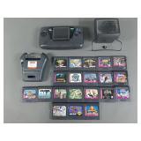 Sega Game Gear Console w/ 20 Games