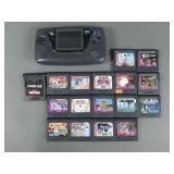 Sega Game Gear Console w/ 17 Games