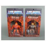 2pc Super 7 Los Amos He-Man MOTU Figures NIP