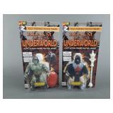 2pc Zoloworld Realm of the Underworld Figures NIP
