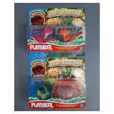 2pc Playskool Jurassic Park Junior Sets NIP