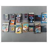 7pc Nintendo NES Games w/ Box
