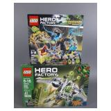 2pc Lego Hero Factory Sets NIB Sealed