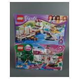 2pc Lego Friends & Disney Princess Sets NIB