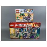 2pc Lego Ninjago Sets NIB Sealed