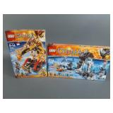 2pc Lego Chima Sets NIB Sealed