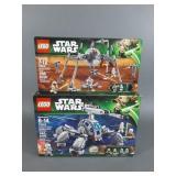 2pc Lego Star Wars Sets NIB Sealed