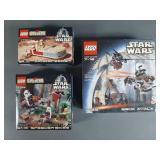 3pc Lego Star Wars Sets NIB w/ 7139 Ewok Attack