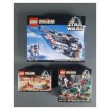 3pc Lego Star Wars Sets NIB w/ 7130 Snowspeeder