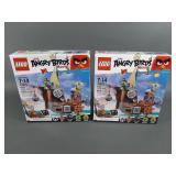 2pc Lego Angry Birds 75825 Piggy Pirate Ship