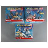 3pc Playskool Star Wars Sets NIP-Galactic Heroes