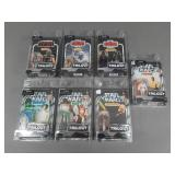 7pc Star Wars Trilogy Collection Figures NIP