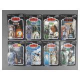 8pc Star Wars TVC Vintage Collection Figures NIP