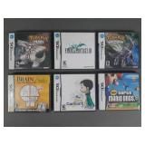 6pc Nintendo DS EMPTY Game Boxes w/ Manuals