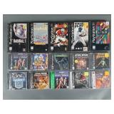 15pc Sony Playstation 1 PS1 Games w/ Long Boxes