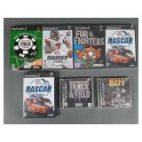 7pc Playstation PS1 & PS2 Games SEALED