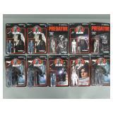 10pc Funko ReAction Alien & Predator Figures NIP