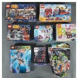 8pc Mixed Lego Kits NIP w/ Star Wars