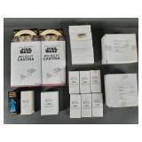 18pc Star Wars POTF2 Mail-Away Figures & Acc