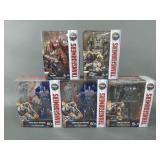 5pc Transformers Last Knight Figures in Box