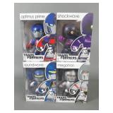4pc Transformers Mighty Muggs Figures NIB