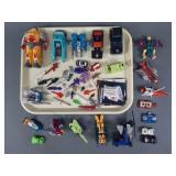 Vtg G1 Transformers & Parts Lot w/ Pretender