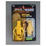 Vtg Star Wars POTF Amanaman Complete on Card