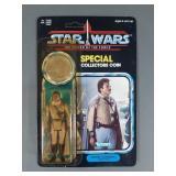 Vtg Star Wars POTF Lando in General Uniform NIP