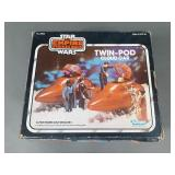 Vtg Star Wars Twin Pod Cloud Car w/ Box