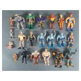 Vtg Action Figure Lot w/ Thundercats, Chuck Norris