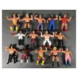 14pc Vtg LJN Wrestling WWF Figures