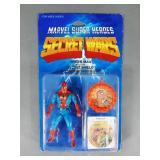 Vtg Marvel Secret Wars Spiderman Figure NIP