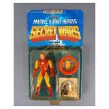 Vtg Marvel Secret Wars Iron Man Figure NIP
