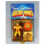 Vtg Marvel Secret Wars Wolverine Figure NIP