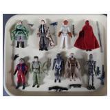 9pc Vtg Star Wars Figures Complete w/ Endor