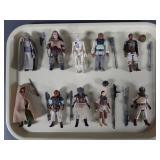 10pc Vtg Star Wars ROTJ Figures Complete