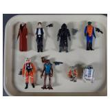 8pc Vtg Star Wars Figures Complete w/ Obi-Wan