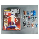 Vtg Micronaut Lot w/ Mobile Lab in Box & Figures