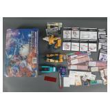 Vtg G1 & G2 Transformers & Parts Lot in Case