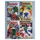 Silver Age Fantastic Four #58-61 Comic Run