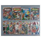 14pc Bronze Age Marvel Horror Comics
