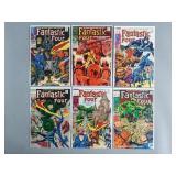 Silver Age Fantastic Four #80-85 Comic Run