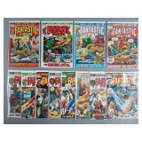 12pc Bronze Age Fantastic Four Comic Books