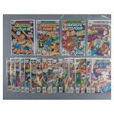 21pc Bronze Age Fantastic Four Comic Lot