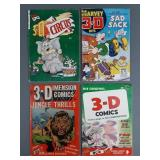 4pc Golden Age 3D Comic Books w/ Tor