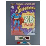 1953 Superman 3D Comic Book w/ Glasses